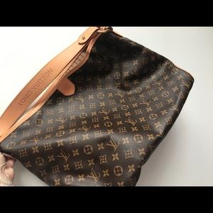 Authentic Louis Vuitton Delightful MM monogram